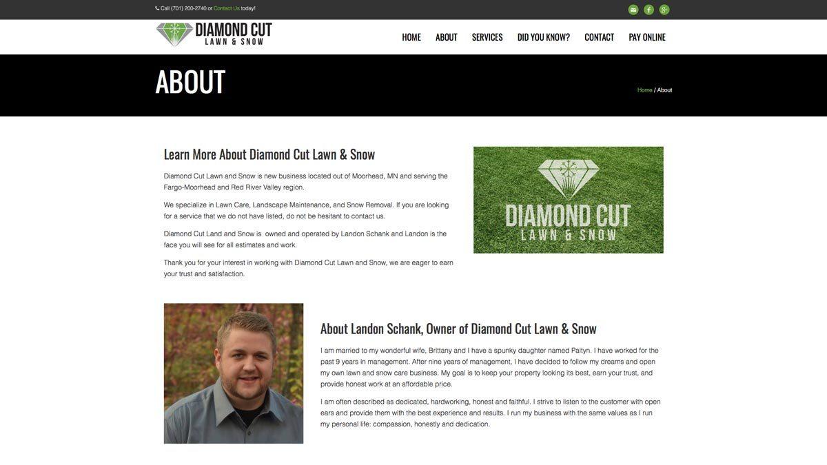 Diamond-Cut-Website-Design-About