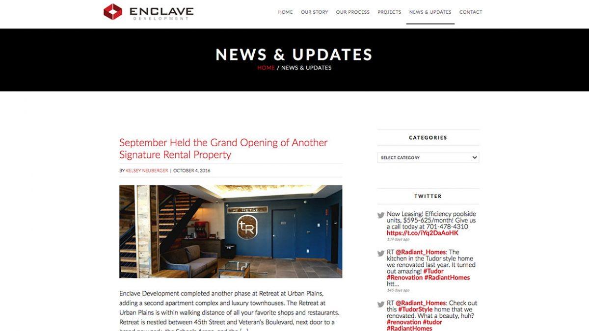 enclave-development-news