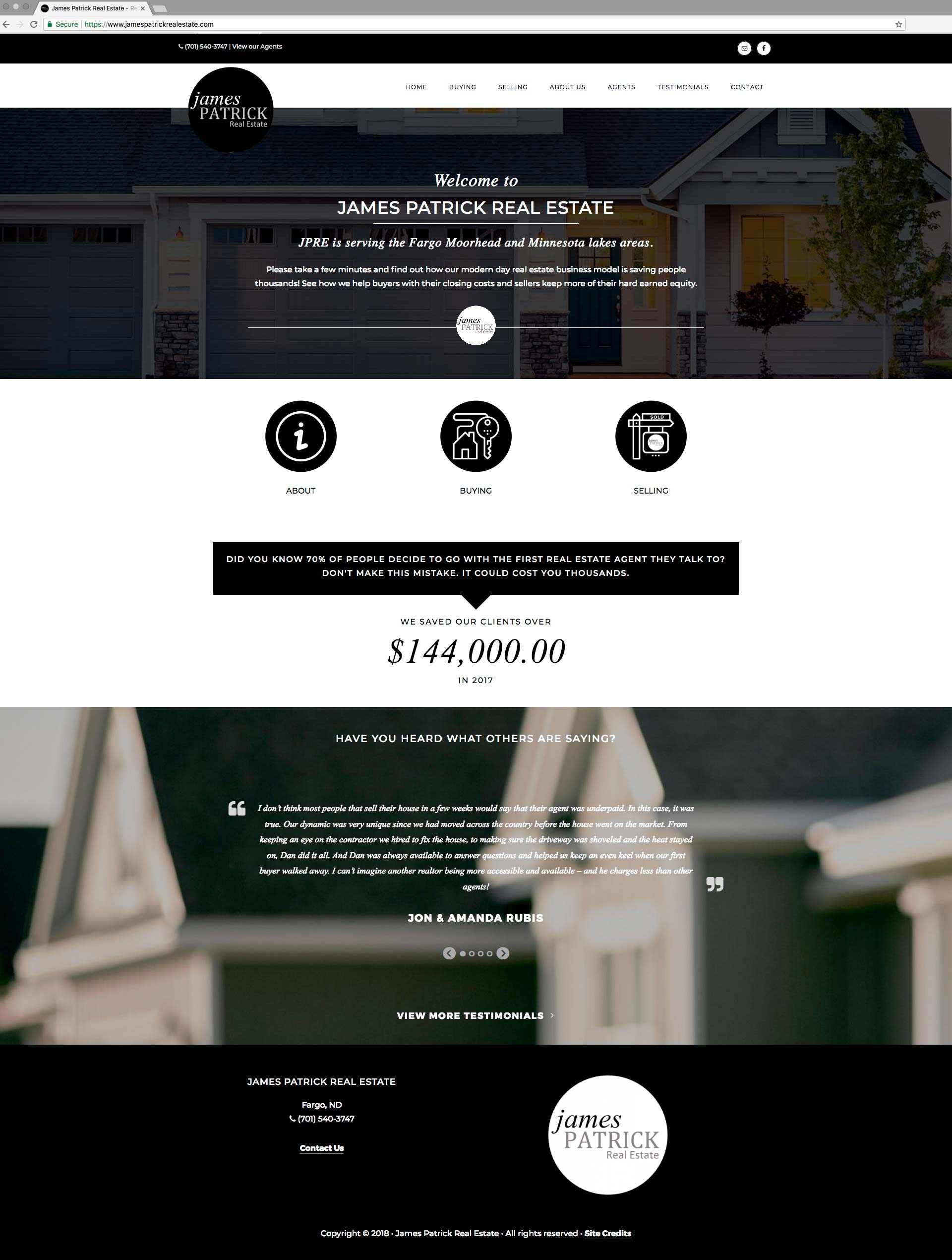 James Patrick Real Estate Home Page
