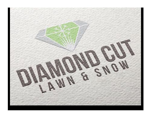 Mock up of Diamond Cut Logo