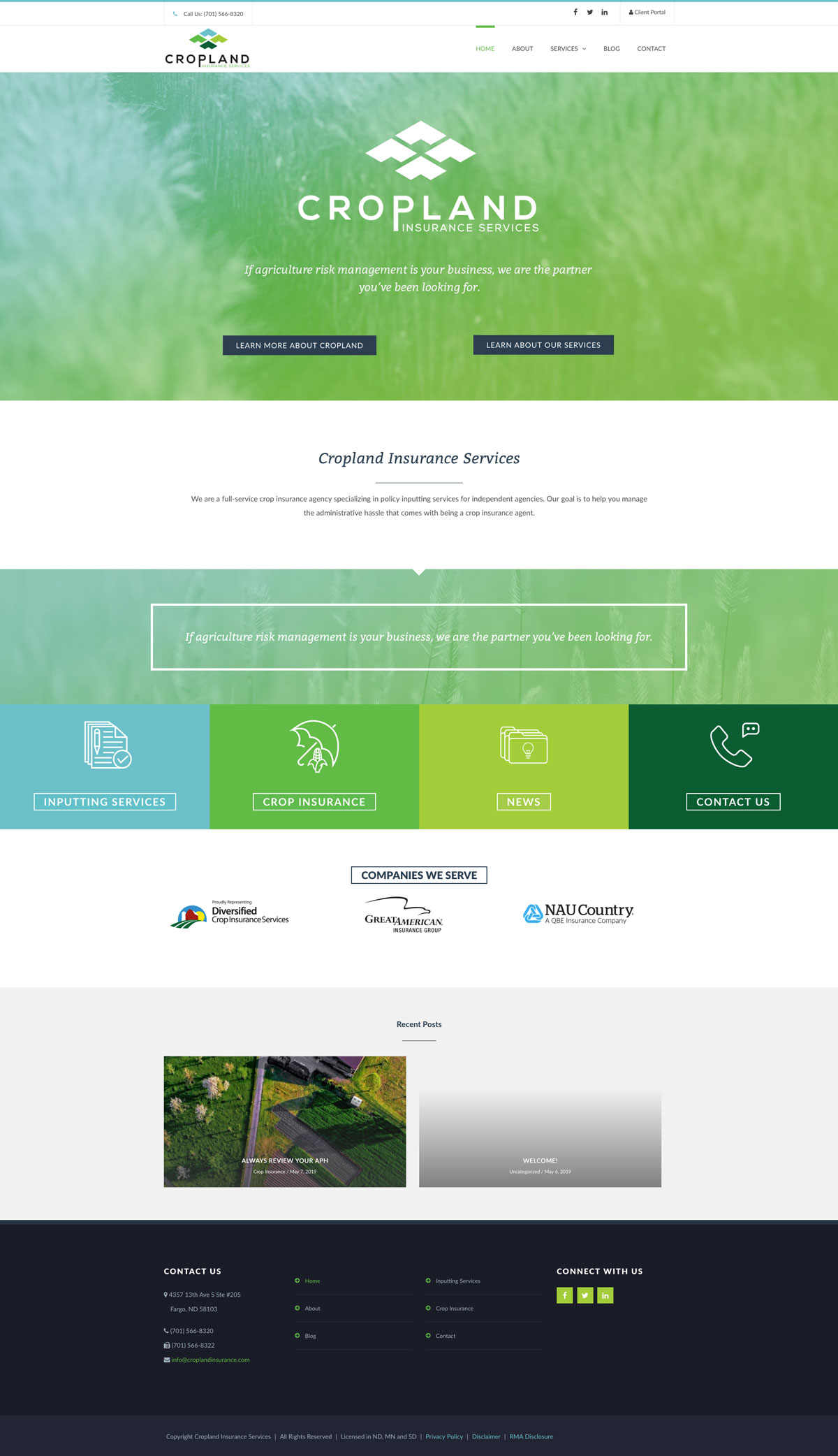 Cropland Home Page