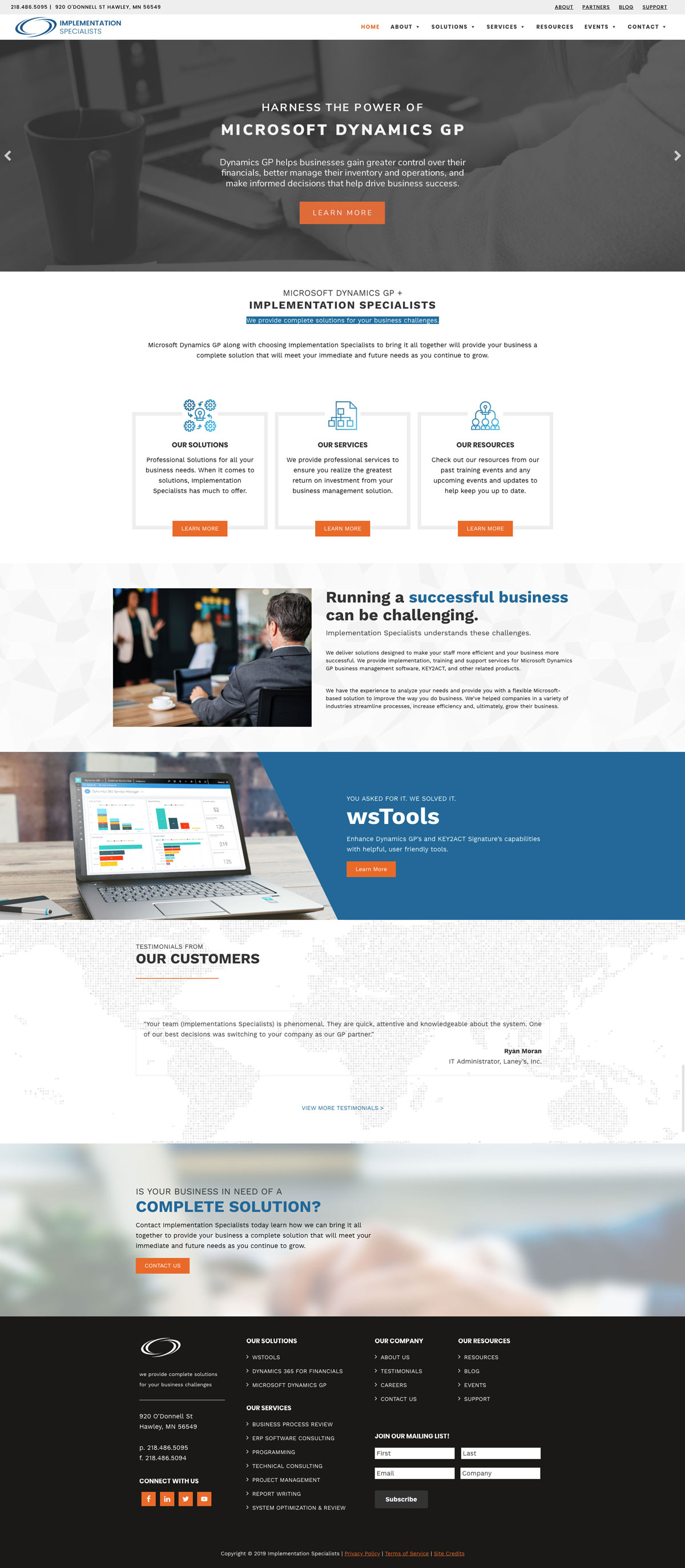 ISCORP Home Page