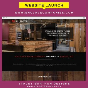 Website Launch for Enclave Companies