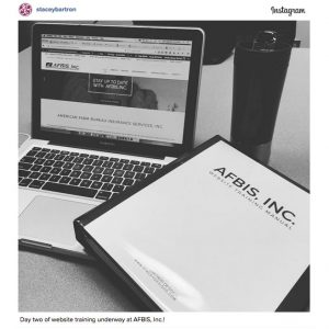 WordPress Website Training Instagram Post