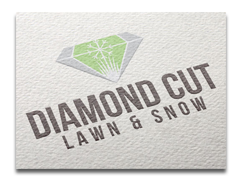 Mock up of Diamond Cut Logo