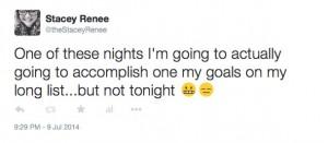 Tweet Goals