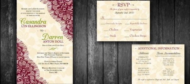 wedding invite design stacey bartron