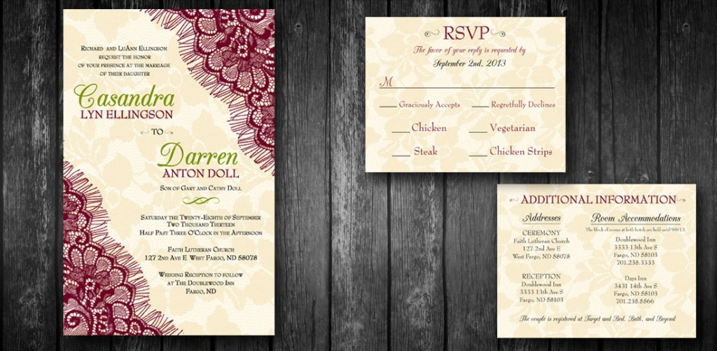 wedding invite design stacey bartron